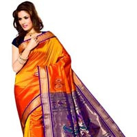 Heavy Work Silk Sarees
