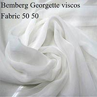 Bemberg Georgette Viscose Fabric (50gm)