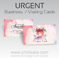 Urgent Business Cards Both Sided Printing