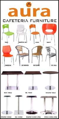 Cafetaria furniture for Aura global cuisine