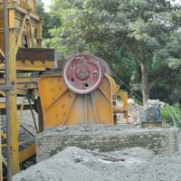 100 Tph Primary Jaw Crusher
