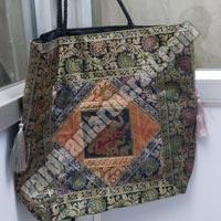Brocade Zari Handbags - Manufacturer, Exporters and Wholesale Suppliers,  Uttar Pradesh - Vardhani Art & Craft