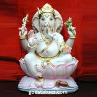 Marble Ganesha Statue