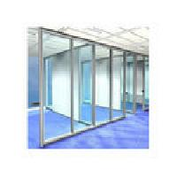 Aluminum Glass Partition Works