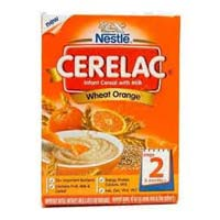 Nestle Cerelac Stage 2 Wheat Orange
