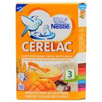 Nestle Cerelac Stage 3 Wheat Rice Mango