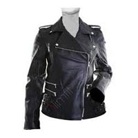 Ladies Leather Bike Jackets