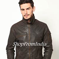 We are offering washed brown leather jacket coat blazer custom made. Free shipping usa stack up your style against the rest with brown leather jacket from