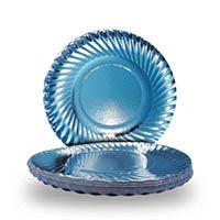 12 Inch Silver Paper Plates - Manufacturer, Exporters and Wholesale Suppliers,  Assam - Sri Ganesh Products