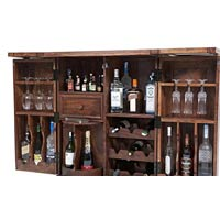 Wooden wall unit manufacturers suppliers exporters in for Wooden bar unit