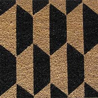 Rubber Backed Tufted Mat