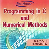 Programming In C And Numerical Methods