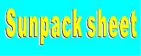 Sunpack Sheet Printing Services
