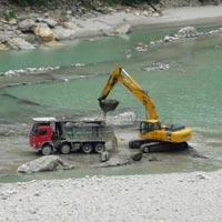 Yamuna River Sand