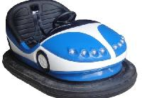 Blue Amusement Bumper Car