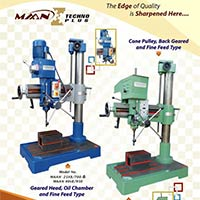 Feed Radial Drill Machine