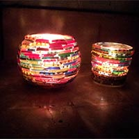creative candles manufacturer by best out of waste gujarat