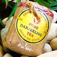 Darjeeling Organic Green Tea Leaves