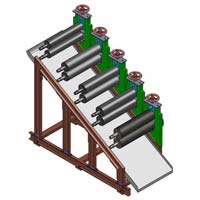 Fully Automatic Rubber Roller Machine