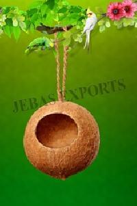 Wild bird feeders manufacturers suppliers exporters for Whole coconut bird feeders