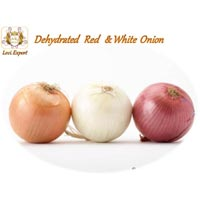 Dehydrated Red And White Onion