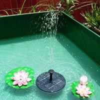 Floating Solar Fountain