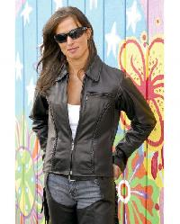 100% Genuine Soft Leather Jacket for Women,Handmade Men Black ...