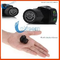 World's Smallest Camera Y2000 With 4gb Tf Card Free