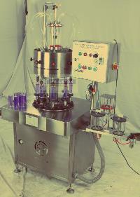 Semi Auto 8 Head Rotary Vacuumetric Perfume Filling Machine