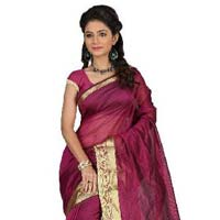 Designer Bhagalpuri SILK saree with Zari work