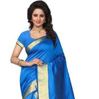 Designer Kanchipuram Silk Saree With Zari Work
