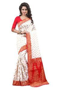 Trendy Bhagalpuri Silk Saree