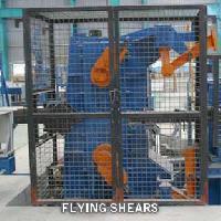 flying shear machine