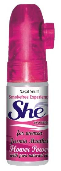 15 gm She Jasmine Menthol Non Herbal Snuff