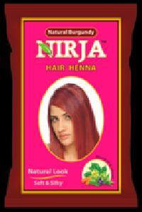 Nirja Burgundy Hair Color