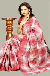 Traditional Bengali Tant Saree-2