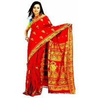Traditional Indian Bridal Saree
