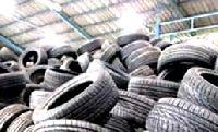 Rejected Car Tyres