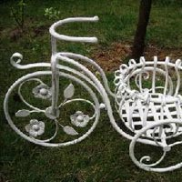 Decorative Flower Pot Cycle Stand