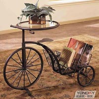 Decorative Cycle Stand With Glass