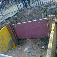 Corner Trench Shoring Systems
