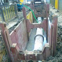 Standard Trench Shoring Equipments