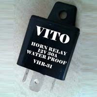 Automotive Horn Relay With Pin
