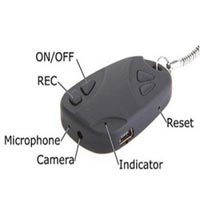 Spy Car Keychain Camera