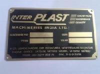 Aluminum Name Plates