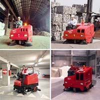 Hopper Cleaning Machine