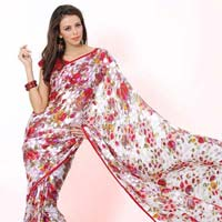 Printed Saree