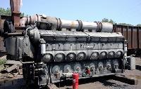 Diesel Locomotive Engine