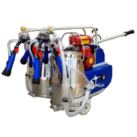 Kerosene/ Petrol Engine Operated Double Bucket Milking Machine
