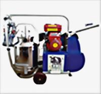 Kerosene/petrol Engine Operated Single Bucket Milking..